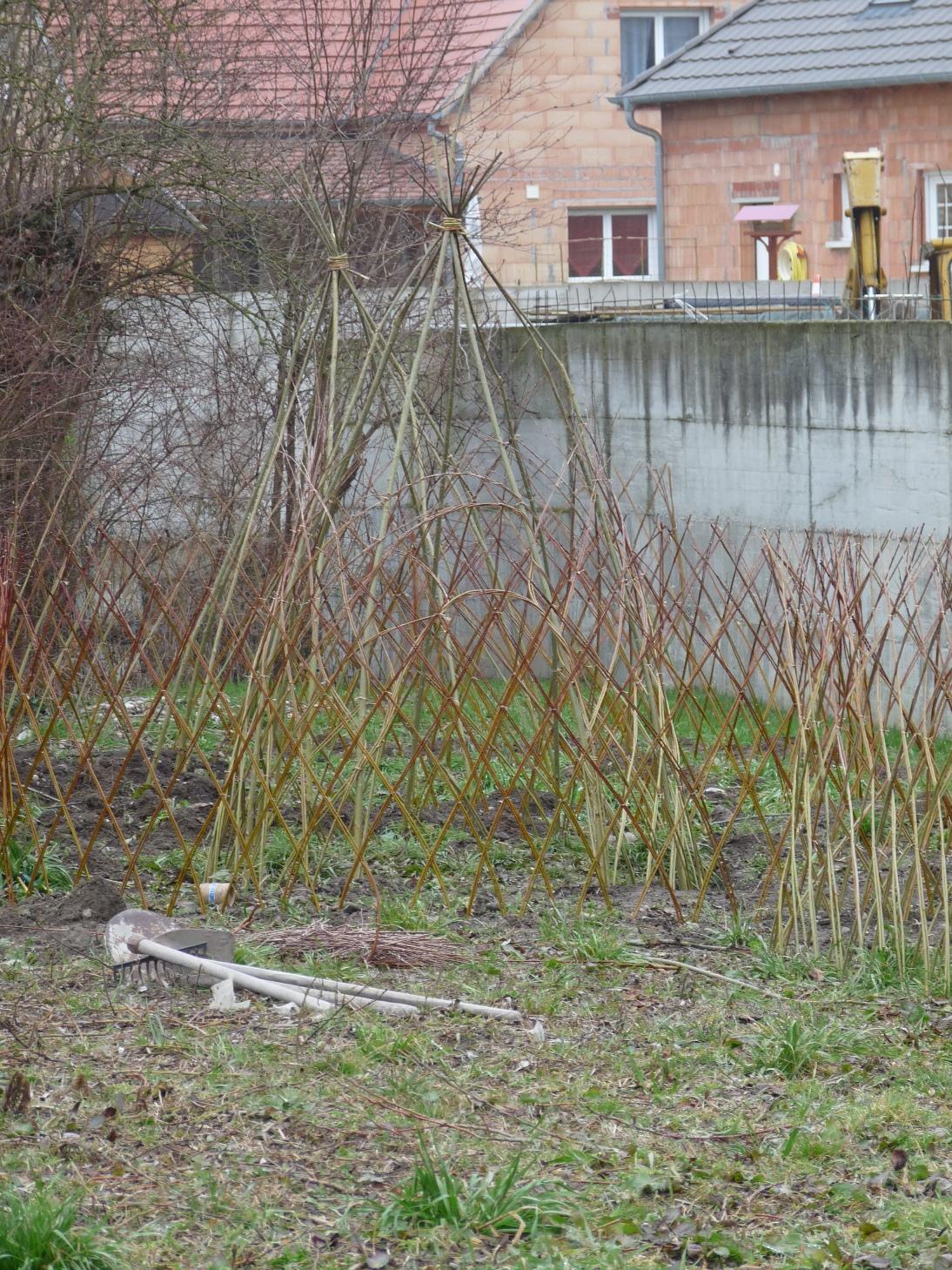 Bordure Jardin Saule Tresse - Rellik.us - rellik.us