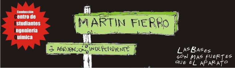 MARTIN FIERRO - Conducción CEIQ - Facultad de Ingeniería Química - UNL - Santa Fe