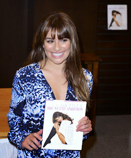 lea michele signing of brunette ambition in los angeles may 2014 13.jpg