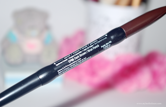 NYX Auto Eyebrow Pencil in EP05 Dark Brown