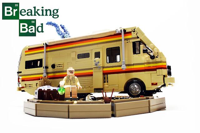 Breaking Bad'deki Karavan'ın Legosunu İsteyen?