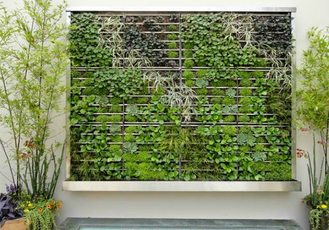 green walls with bamboo | Vietnam Outdoor Furniture