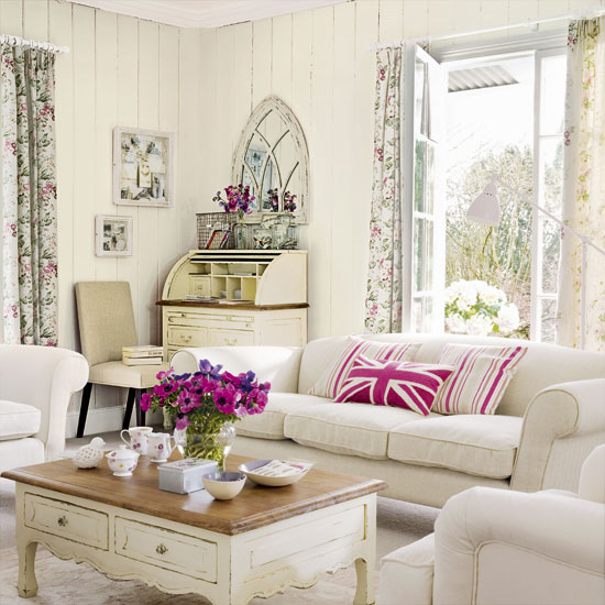 Vintage Style Living Room Ideas