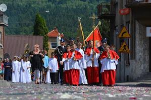 Uroczystości Bożego Ciała - Zembrzyce 15.06.2017