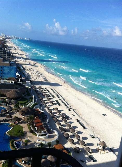 Cancún desde el aire