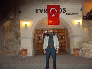 "At ""Evranos Restaurant"" for  ""Turkish Nights"" cultural programme."