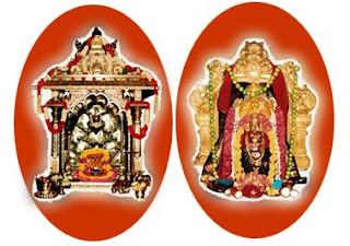 Shiva and Parvati Srisailam Bhramaramba Mallikarjunaswamy Temple