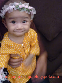 Consolation Winner Dari Azzamoro Blog [2010] : Gaya Si Comel Berbaju Raya