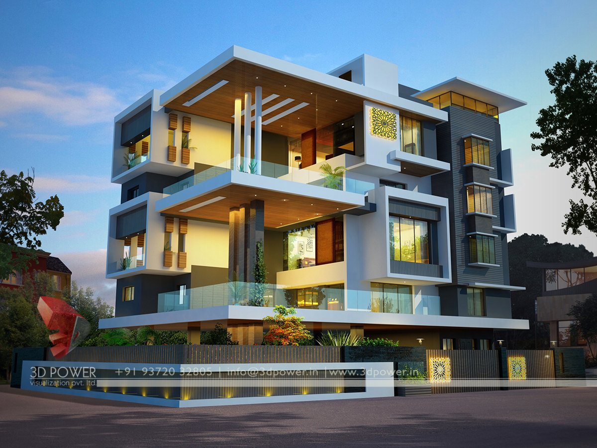 Ultra modern home design Ultra modern house