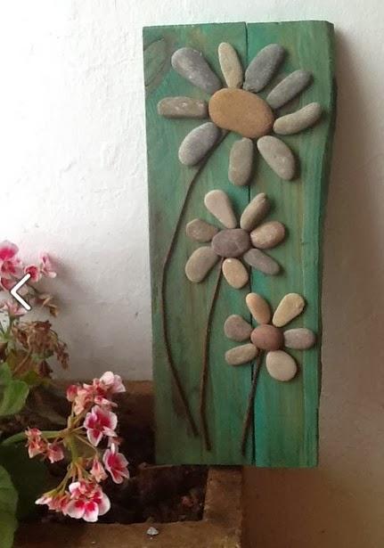 Decora tu vida diy decorar con piedras naturalmente - Decoracion con piedra ...