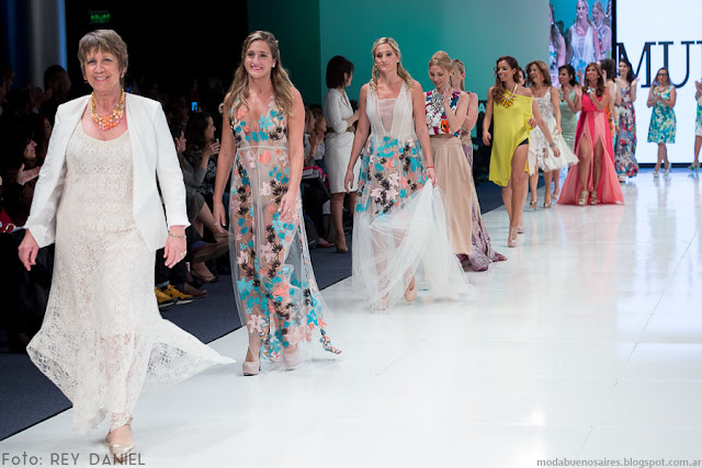 Desfile Clarin Mujer 2016. Argentina Fashion Week primavera verano 2016.