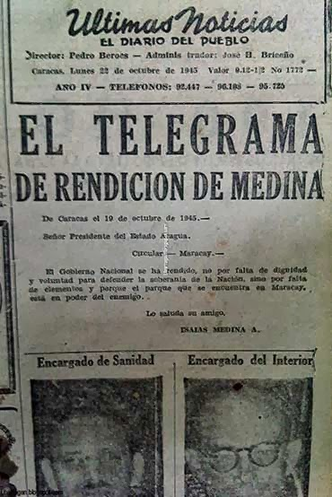 18 septiembre 1945: