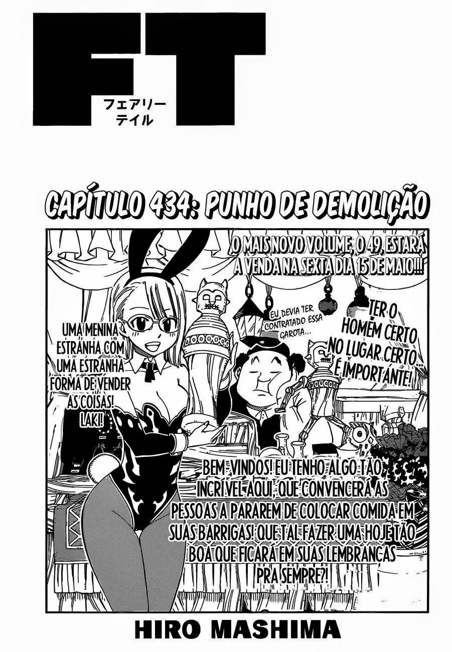 Fairy Tail Mangá 434, Mangá Fairy Tail 434, Fairy Capítulo 434, Todos os Mangás, ler, em, português, traduzido, legendados