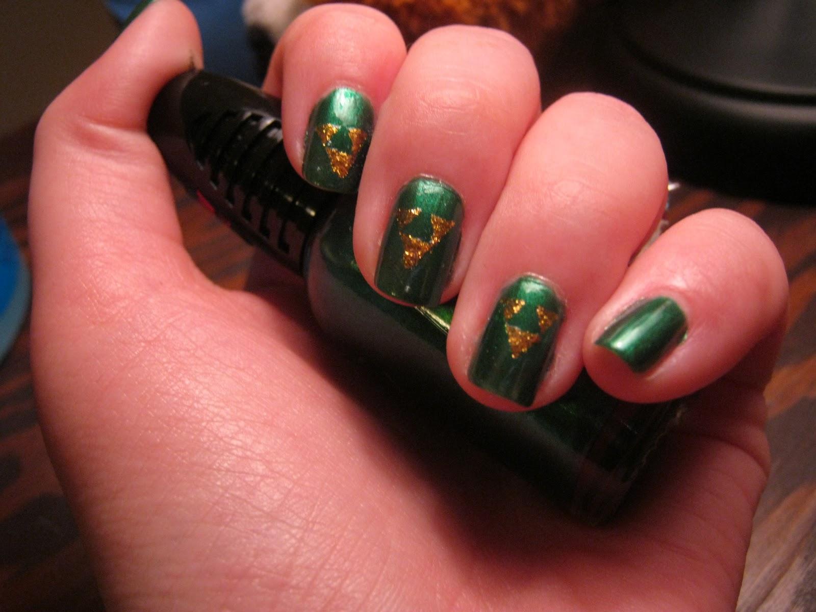 Munchy S Nails Zelda Nails