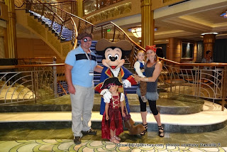 Pirate night, Buccaneer Bash, family in costume
