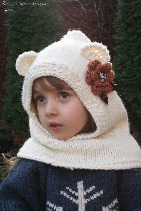 Free Crochet Pattern For Bear Cowl Dancox For