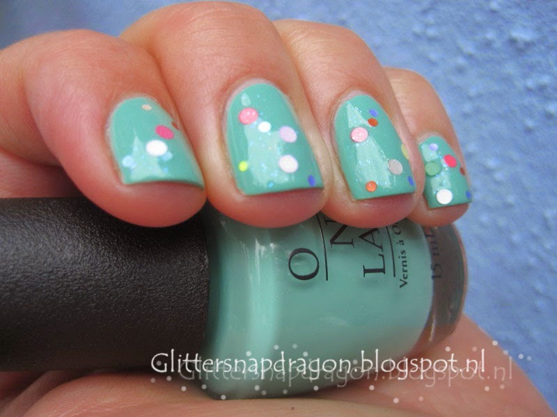 Elevation Polish Plumeria OPI My Dogsled is a Hybrid