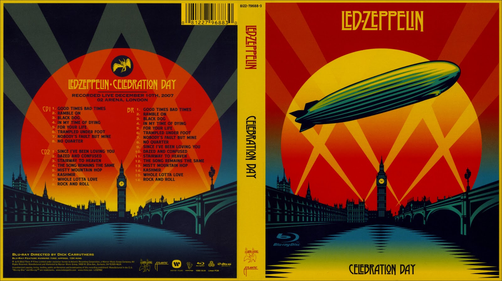Led Zeppelin Celebration Day HDTVLed Zeppelin Celebration Day Wallpaper