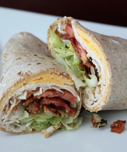 Turkey Ranch Club Wrap Recipe