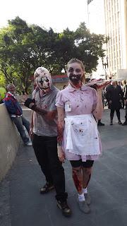 Zombie Walk São Paulo Brasil - Brazil.
