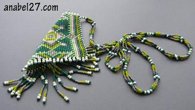 купить этнические украшения из бисера украина анабель гердан