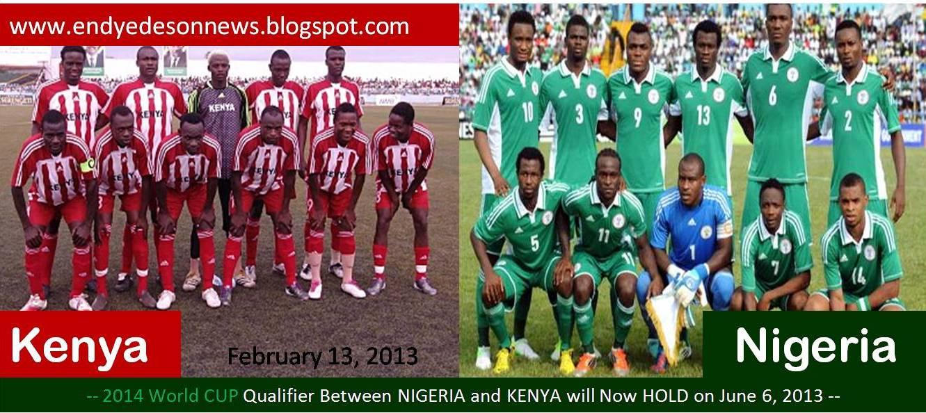 Nigeria 3 Kenya 2 World Cup Qualifier South Africa 2010 ...