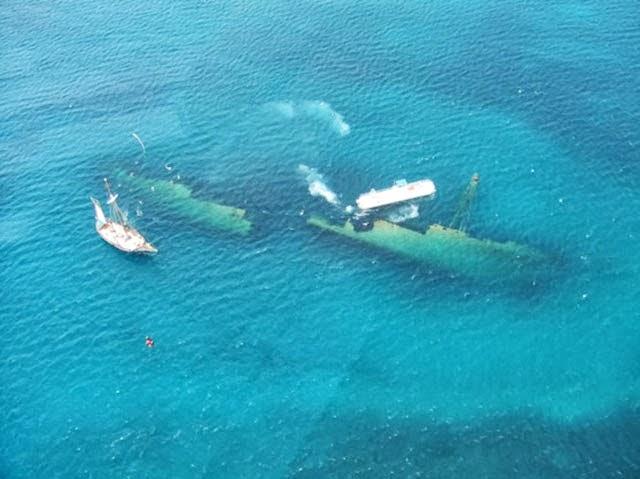 30 fotografías de naufragios