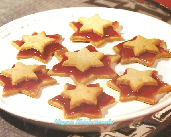 Galletas de Mantequilla con Frambuesa