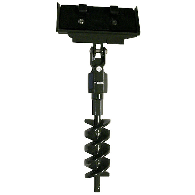Skid Steer Auger Attachment3