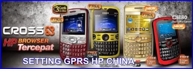 SETTING GPRS HAPE CINA