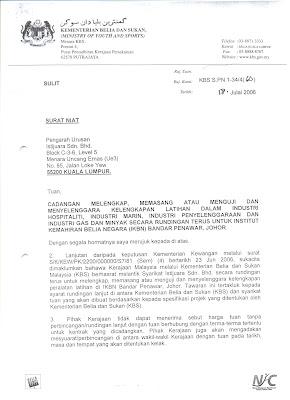 Penjelasan Sebenar Kontrak @RajaNongChik Dan Kontrak KBS