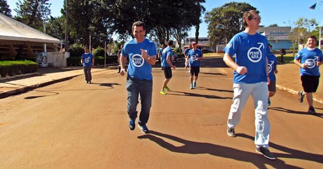 Roncador: Secretarias de Saúde e Esportes realizam a I Mini Maratona Agosto Azul
