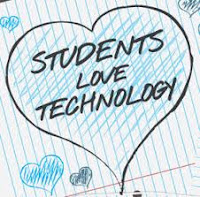 Students love technology.