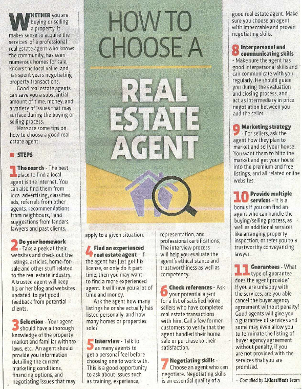 Reapfield Penang How To Choose A Real Estate Agent