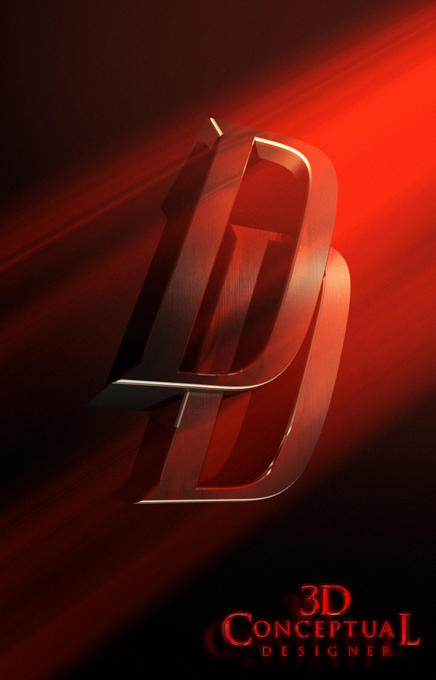 Daredevil Logo Movie Poster