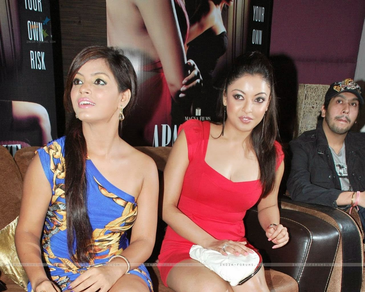 tanushree dutta at apartment press meet