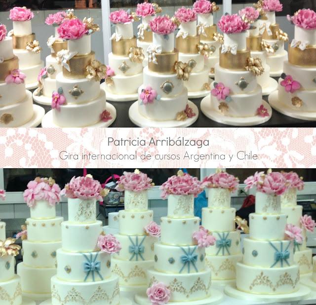 Cursos tortas de boda Argentina y Chile