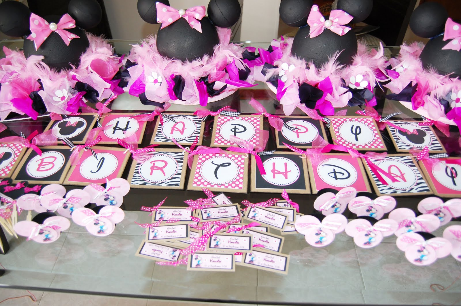 Pin decoracion minnie mouse fiestaideas images hawaii for Decoracion 2 0