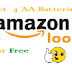 Amazon Loot - Get Energizer MAX Alkaline Battery-Total 4 AA Batteries For Free