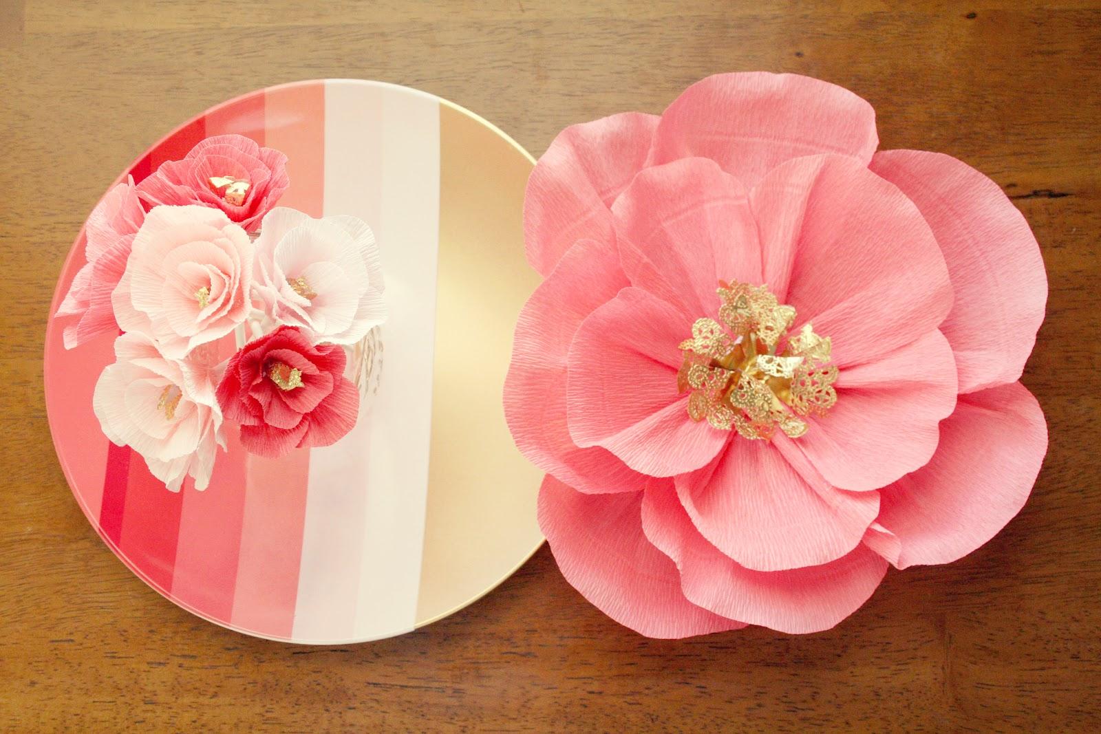 Buggie And Jellybean Diy Mini Crepe Flowers