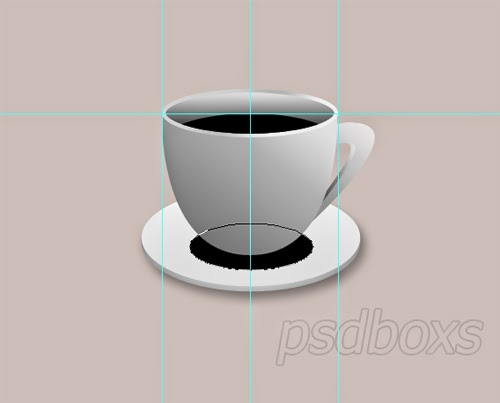 PSD Tutorial : Create A Realistic Coffee Cup
