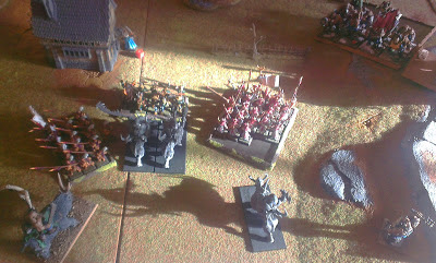 Warhammer Fantasy battle report: Ogres vs Empire