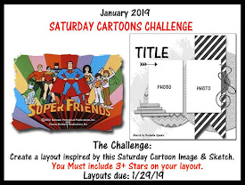 January Saturday Cartoon Inspired Stash Challenge