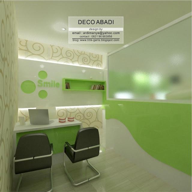 desain interior klinik gigi