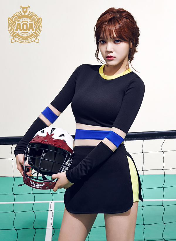 lagu heart attack aoa