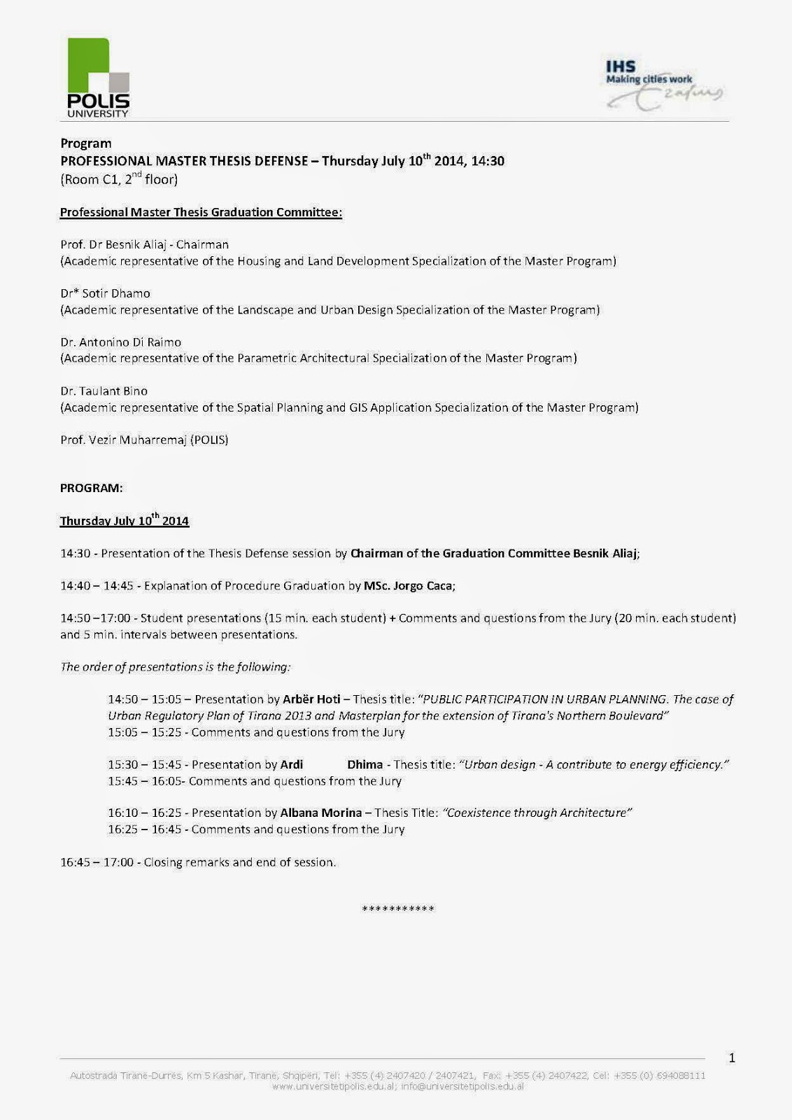 Master thesis statutory declaration, Formal requirements_Master ...