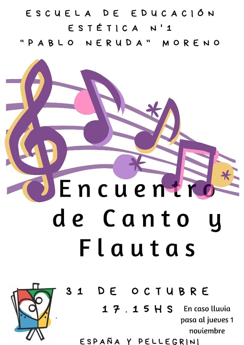 ENCUENTRO DE FLAUTAS Y CANTO 2018