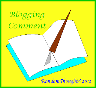 Blogging comment