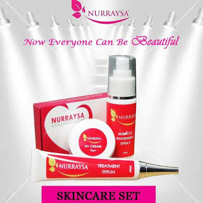 skincare set nurraysa beauty