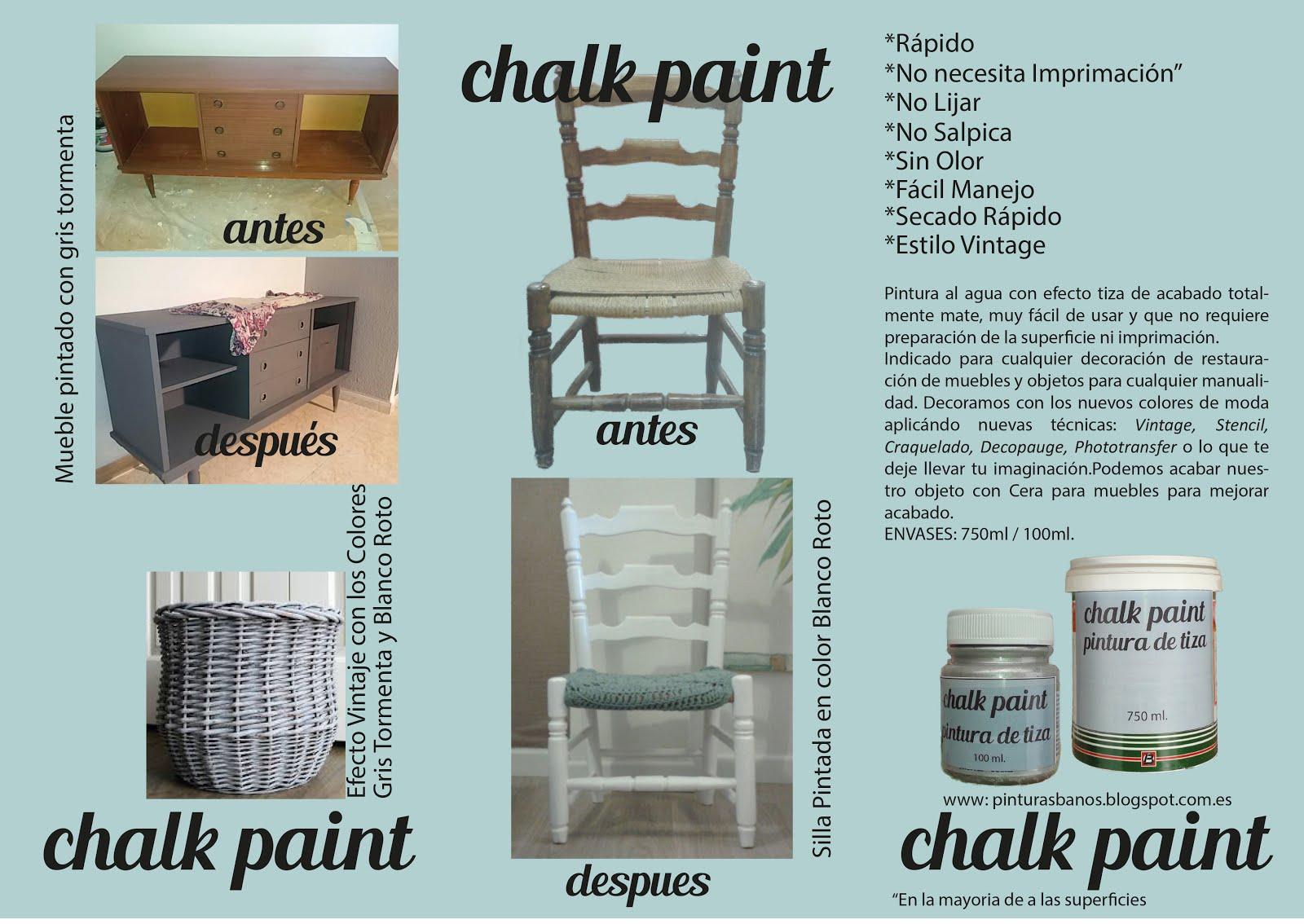 Pinturas ba os carta de colores pintura tiza economica - Pintura ala tiza colores ...